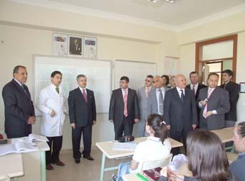 Gülerçin Koleji'ne ziyaret