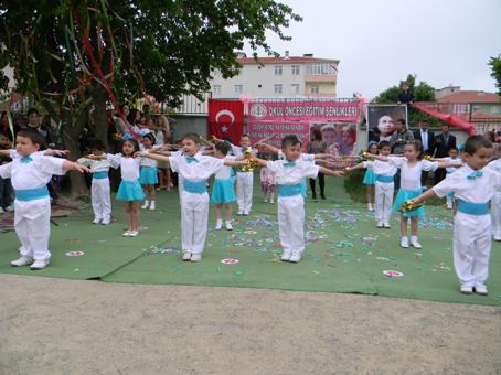 Kapaklı Anaokulu okul öncesi şenliklerini kutladı