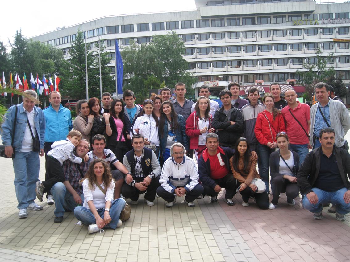 Halk Oyunları Ekibimiz  Bulgaristan'ı büyüledi