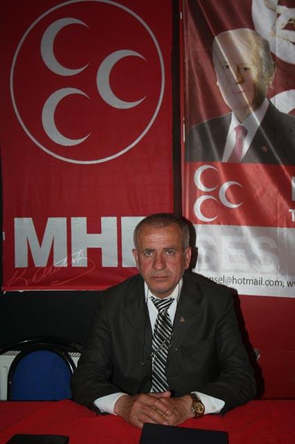 MHP İlçe Başkanı Mustafa Ordu: