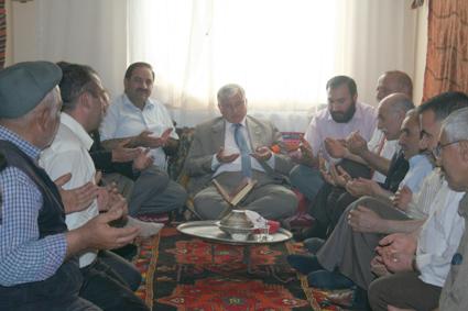 Ak Parti'den Hacı Bektaş'a ziyaret