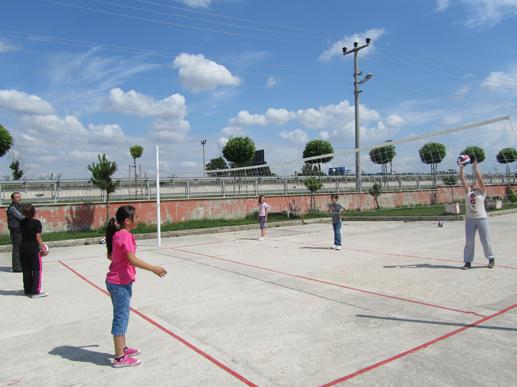 Veliköy'de Yaz Spor Okul