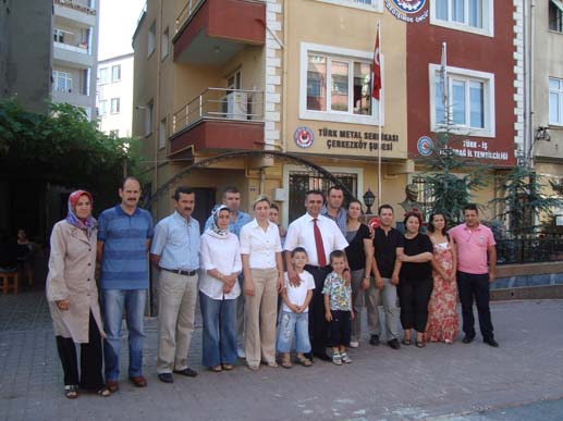 Türk Metal'in Kıbrıs Otel'i açıldı