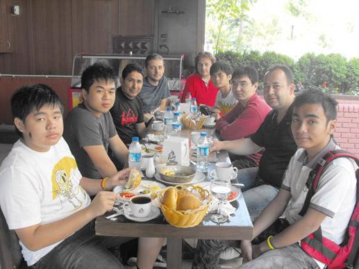 Kamboçya'dan öğrenciler geldi