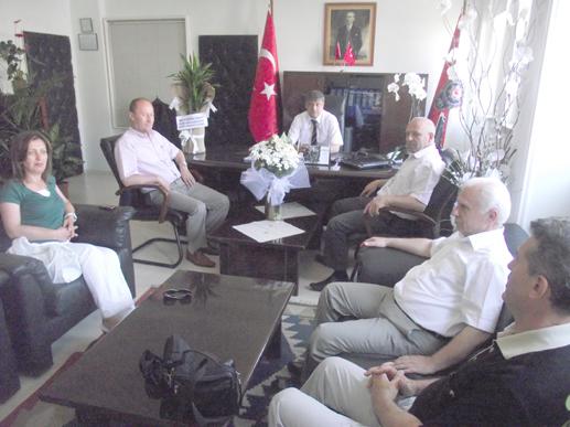 AKP İlçe Teşkilatı'ndan Dalman'a ziyaret