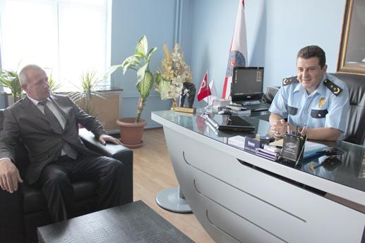 MHP'den Yırtar'a hayırlı olsun ziyareti