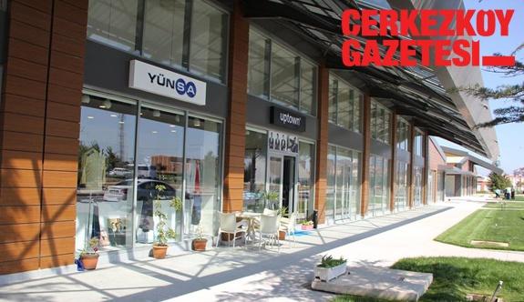 ÇOSB Ticaret Bloklarındaki dükkanlar kullanıma hazır