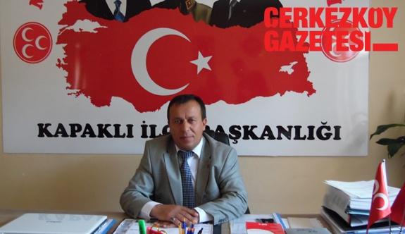 MHP İlçe Başkanı'ndan Mandalı'ya sorular