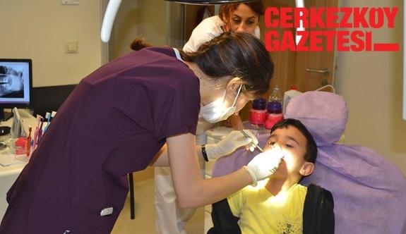 Nilüfer Kreş diş taramasından geçti