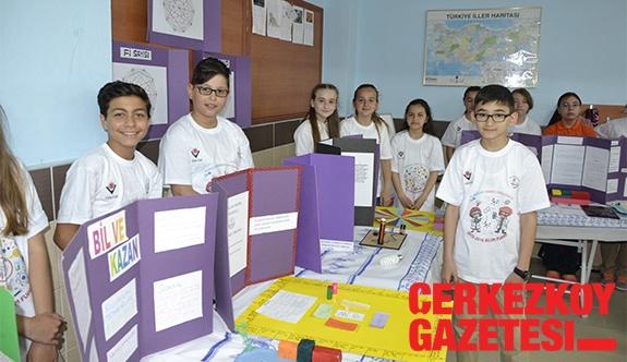Öğrencilerin 70 projesi sergilendi
