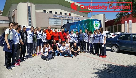 Çerkezköy'ün Kızları Türkiye 4'üncüsü oldu