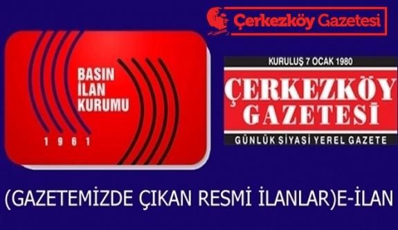 T.C. Çerkezköy İcra Dairesi