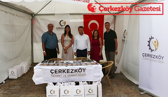 ÇTSO yetkilileri Edirne'de fuara katıldı