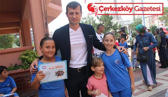 Yaz Spor Okulu başarı belgeleri verildi