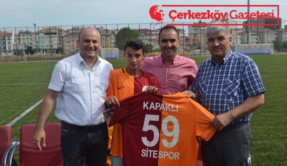 Site Sporlu Ersin Galatasaray'la anlaştı