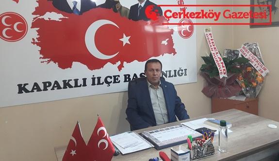 Türker'den Bahçeli'ye ziyaret