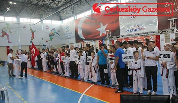 Uluslararası 3. Taekwondo Şampiyonası tamamlandı