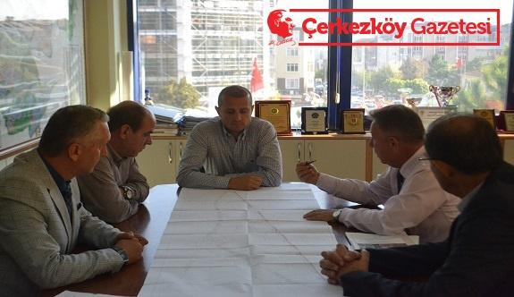 Çerkezköy'de trafiği rahatlatma çalışmaları başladı