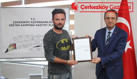 Basın kuruluşlarına teşekkür belgesi verdi