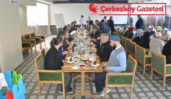 Cami ve Din Görevlileri kahvaltıda buluştu
