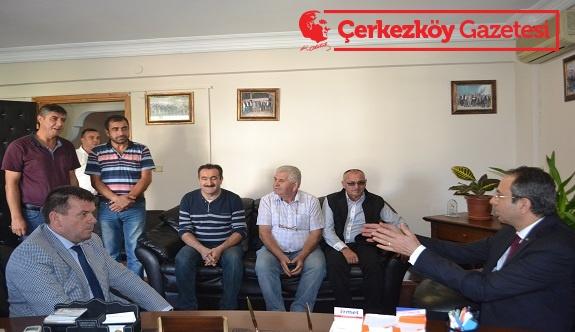 Ortak paydamız Çerkezköy'e hizmet vermek