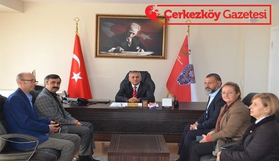 Camcı ve Yönetimi Murat Ogan'ı ziyaret etti