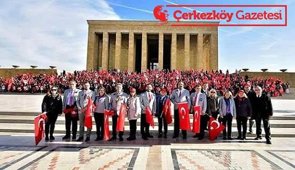 Çerkezköy Rotary'den Anıtkabir ziyareti