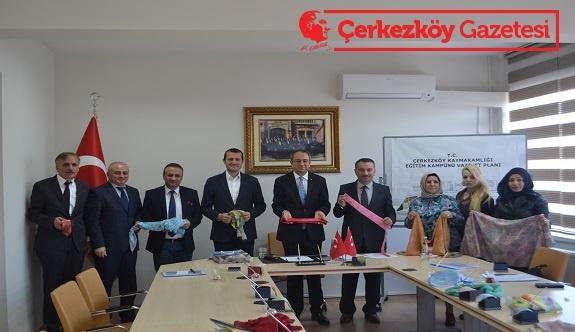 Çerkezköy'ün sembolü Ebru Sanatı olacak