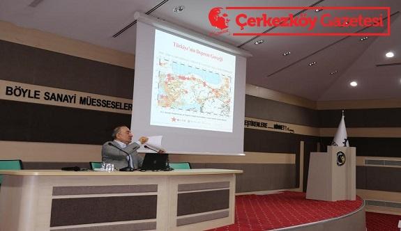 ÇTSO'da, 'İşyerinde Afete Hazırlık' semineri gerçekleştirildi