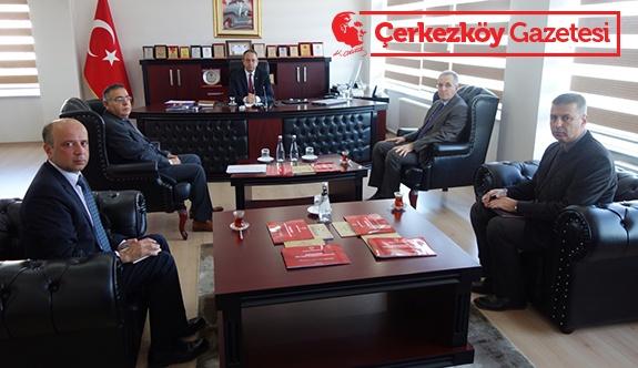 OSB Müdürleri ile tren seferleri tanıtımı toplantısı yapıldı