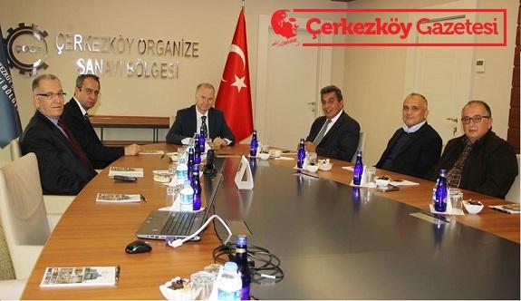 Tekirdağ Valisi Mehmet Ceylan'dan ÇOSB'ye iade-i ziyaret