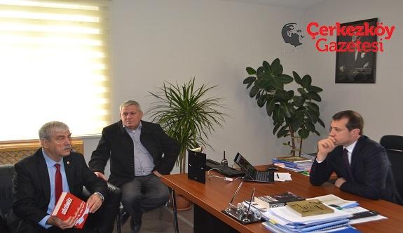 DİSK Genel Başkanı'ndan Başkan Akay'a ziyaret