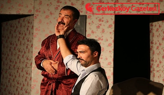 'Kocamın Nişanlısı' Çerkezköy'de sahnelendi