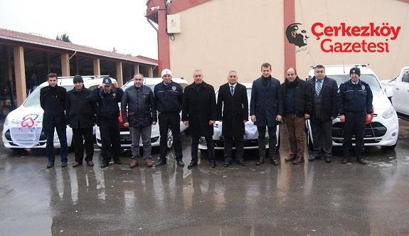 TEDES kapsamında 7 araç tahsis edildi