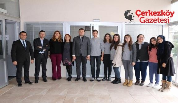 HFZ'li öğrencilerden teşekkür ziyareti