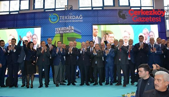 Kılıçdaroğlu 450 Milyonluk 45 projenin açılışını gerçekleştirdi