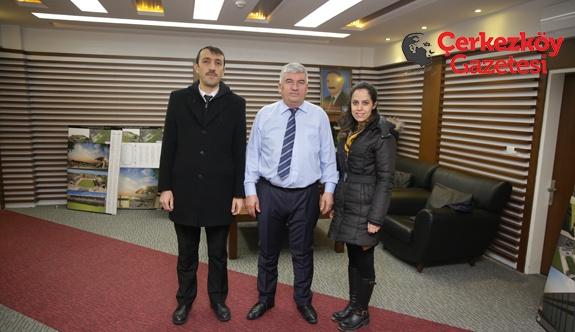 PTT Müdürü'nden Mandalı'ya ziyaret