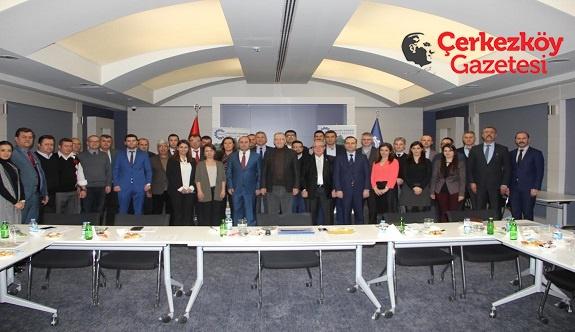 ÇOSB'de YGG toplantısı yapıldı