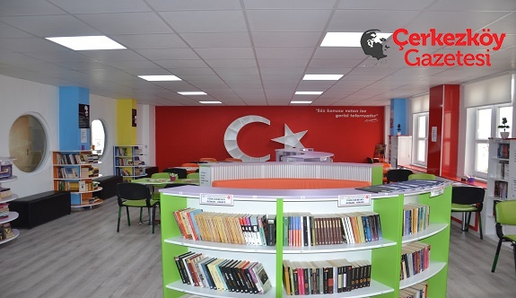ÇTSOAL'nin kütüphanesi hizmete açıldı