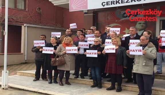 Türk Milleti Hayır diyerek en güzel cevabı verecektir