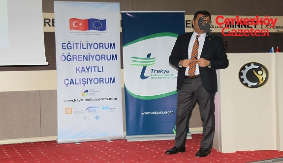 Prof. Dr. Cem Kılıç Çerkezköy TSO'da işverenlere konuştu