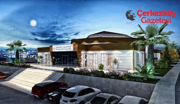Veliköy Düğün Salonunun inşaatı başlıyor