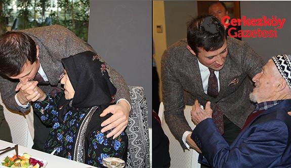 Başkan Akay özel misafirleri ağırladı