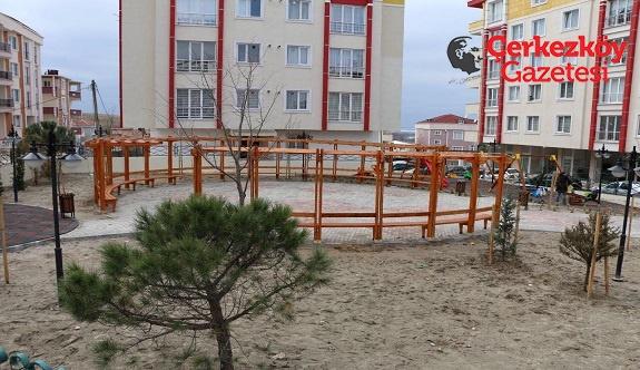 Fidan Sokak'a yeni park yapıldı