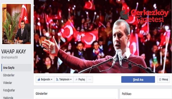 Sosyal medyada zirve Başkan Akay'ın
