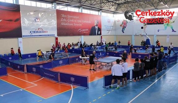 2. Geleneksel Masa Tenisi Turnuvası düzenlendi