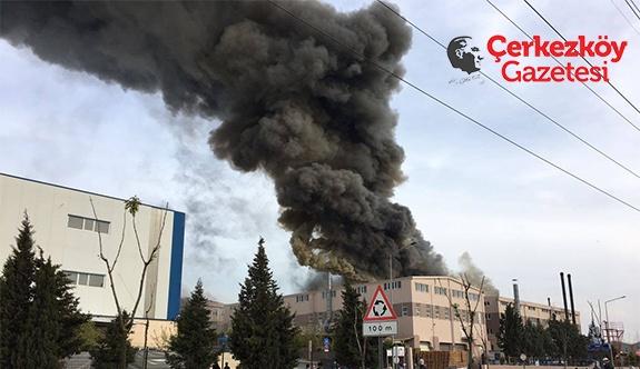 ÇOSB'de kimyasal patlama