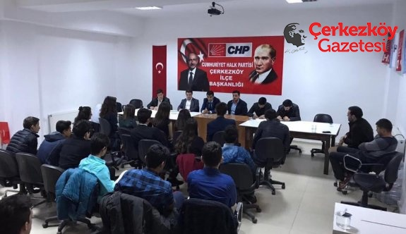 Halk-Lis Çerkezköy Örgütü kuruldu