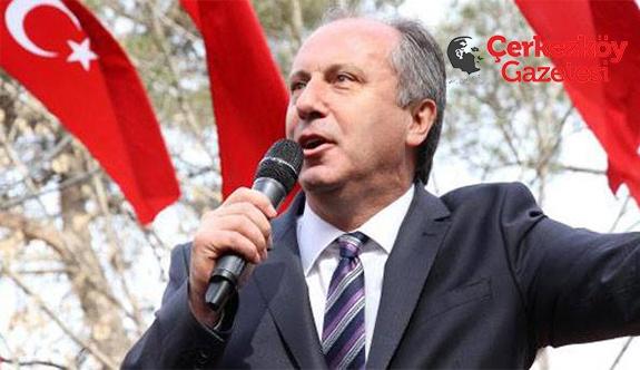Muharrem İnce 13 Nisan'da Çerkezköy'de