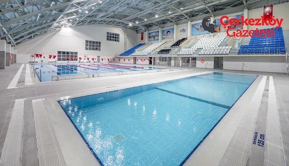 Yarı Olimpik Yüzme Havuzunun ihalesi yapıldı